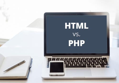 PHP là gì? Ngôn ngữ PHP khác gì với HTML?
